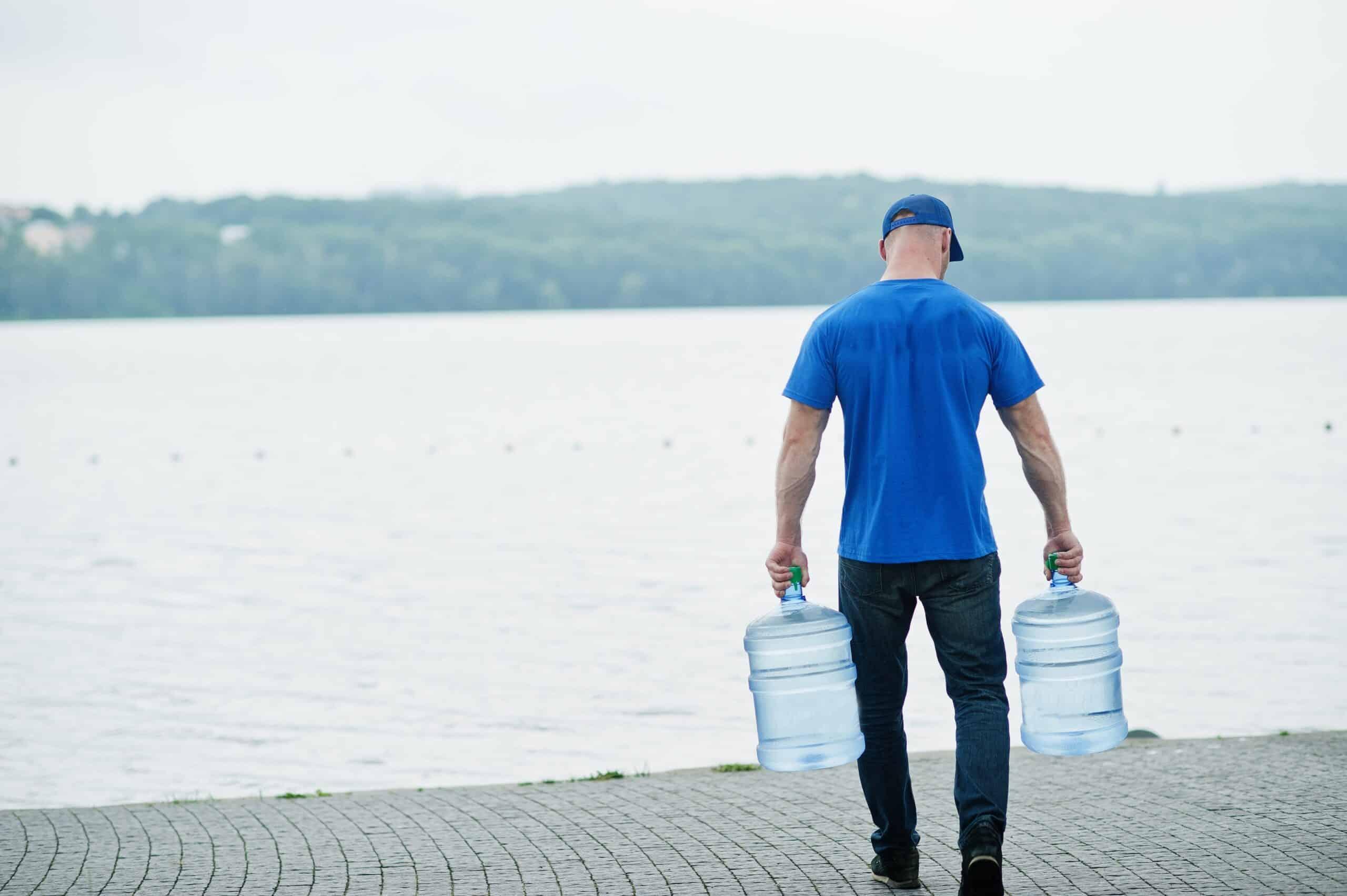 ψύκτες νερού με μπουκάλες