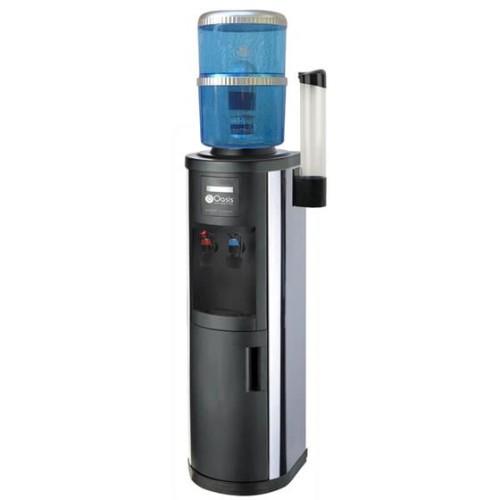 Ανοξείδωτος Ψύκτης Νερού Βρύσης με Φιάλη με Φίλτρο | Oasis Inox - ISS-FF