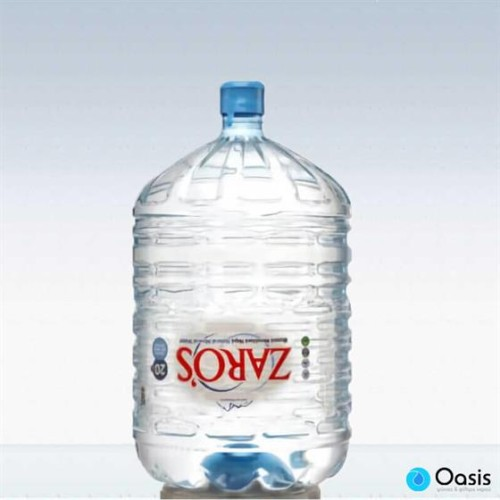 Εμφιαλωμένο Φυσικό Μεταλλικό Νερό Ζαρός, Φιάλες 20 Λίτρων για Ψύκτες