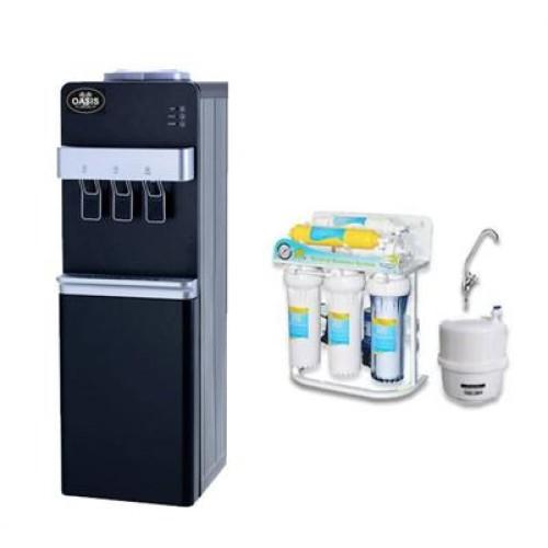 Επιδαπέδιος Ψύκτης Νερού Αντίστροφης Όσμωση 6 Σταδίων | Oasis 30LB-DRO6
