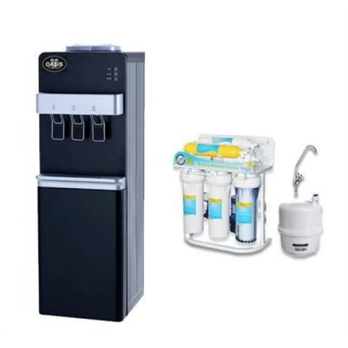 Ψύκτης Νερού Δικτύου με Όσμωση 6 Σταδίων & Αντλία | Oasis 30LB-DRO6-PUMP