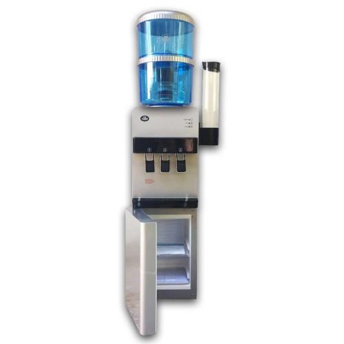 Ψύκτης Νερού Βρύσης με Ψυγείο & Φιάλη Φίλτρου Oasis-Silver Fridge FF
