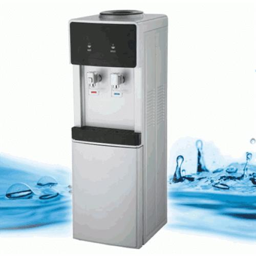 Επιδαπέδιος Θερμοψύκτης Νερού Δικτύου με φίλτρο | Oasis Silver-Black D