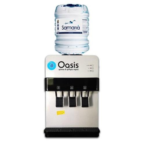 Επιτραπέζιος Ψύκτης Νερού για Φιάλες Εμφιαλωμένου | Oasis Silver Desktop - 30TBS