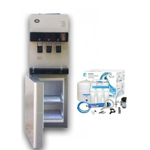 Ψύκτες νερού δικτύου ψυγείο & όσμωση 5 σταδίων-αντλία 30LBF
