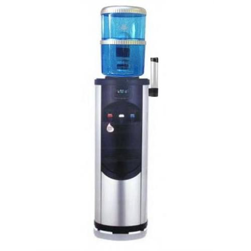 Ψύκτης νερού βρύσης με φιάλη με φίλτρο & 3 βρυσάκια INOX 3 F